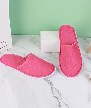 彩色毛巾拖鞋